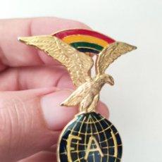 Militaria: EMBLEMA FEDERACIÓN AERONÁUTICA INTERNACIONAL FAI. Lote 143049050