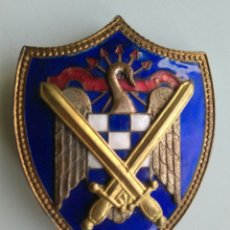 Militaria: INSIGNIA SEU MILICIAS UNIVERSITARIAS FALANGE 6 X 4 CM. Lote 143183734