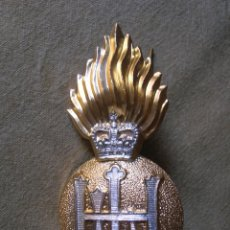 Militaria: MUY BELLA INSIGNIA BRITANICA DE GRAN TAMAÑO PARA BOINA,. Lote 143276494