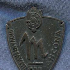 Militaria: ITALIA. INSIGNIA DE BRAZO DE LA GIL GIOVENTÙ ITALIANA DEL LITTORIO DE ANCONA. . Lote 143303058