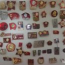 Militaria: LOTE 4. INSIGNIAS LENIN - URSS. 50 UD. Lote 143517774