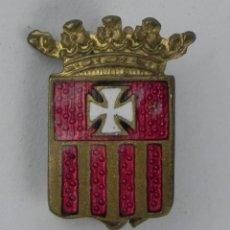 Militaria: ANTIGUA INSIGNIA MINIATURA DE LA ORDEN DE LA MERCED, ORIGINAL. REVERSO CON ALFILER.. Lote 143598302