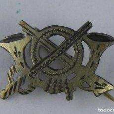 Militaria: INSIGNIA MINIATURA DE INFANTERIA, TIPO PIN, REVERSO CON ALFILER, MIDE 1,6 CMS.. Lote 143675150