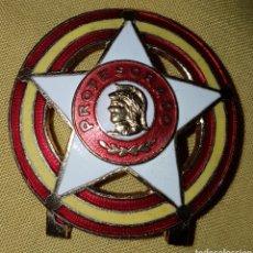 Militaria: PLACA INSIGNIA PROFESORADO EJERCITO FRANQUISTA.. Lote 144142512
