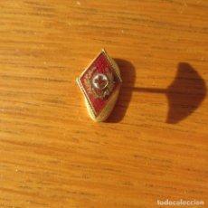 Militaria: INSIGNIA PIN SOLAPA GUERRA CIVIL. Lote 144625530