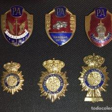 Militaria: PLACAS POLICÍA. EXCELENTE COLECCIÓN. Lote 145072682