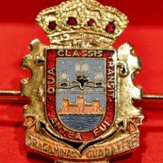 Militaria: PISACORBATAS DE AGUJA PASADOR ARMADA MARINA DRAGAMINAS GUADALETE ESPAÑA. Lote 52576198