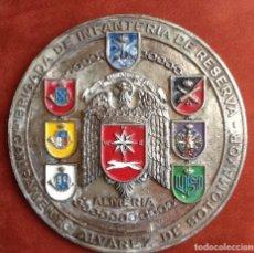 Militaria: CAMPAMENTO ALVAREZ DE SOTOMAYOR. ALMERIA. AGUILA DE SAN JUAN... ENVIO CERTIFICADO INCLUIDO.. Lote 145628134