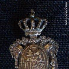 Militaria: INSIGNIA DE OJAL-INSTITUTO NACIONAL DE PREVISION. Lote 145767034