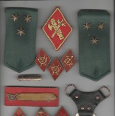 Militaria: LOTE DE INSIGNIAS MILITARES. Lote 146137010