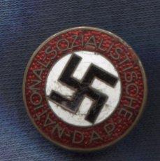 Militaria: ALEMANIA III REICH. INSIGNIA DE SOLAPA DEL NSDAP NATIONALSOZIALISTISCHE DEUTSCHE ARBEITERPARTEI.. Lote 146427178