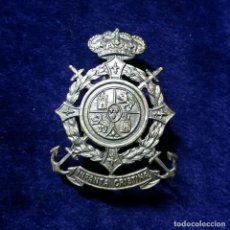 Militaria: ANTIGUA INSIGNIA PIN DE AGUJA IMPERDIBLE MILITAR BUQUE INFANTA CRISTINA DISTINTIVO EMBLEMA. Lote 240387460