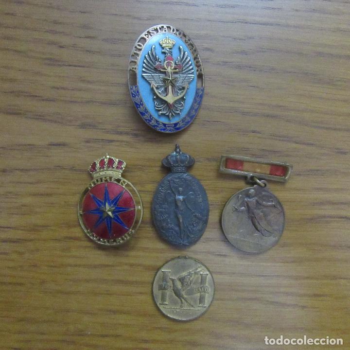 LOTE MILITAR GUERRA CIVIL ALTO ESTADO MAYOR (Militar - Insignias Militares Españolas y Pins)