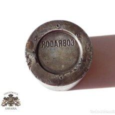 Militaria: TROQUEL .- DISTINTIVO COBRADOR. FERROCARRILES Y TRANVIAS. METRO DE MADRID. Lote 147461766