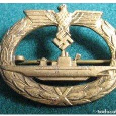 Militaria: DISTINTIVO SUBMARINO ALEMANIA WW2 CON MARCAJE DE FABRICANTE.. Lote 147488406