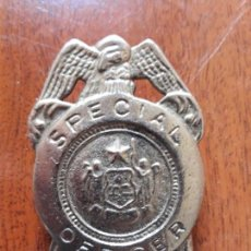 Militaria: REPLICA PLACA SPECIAL OFFICER. Lote 147729990