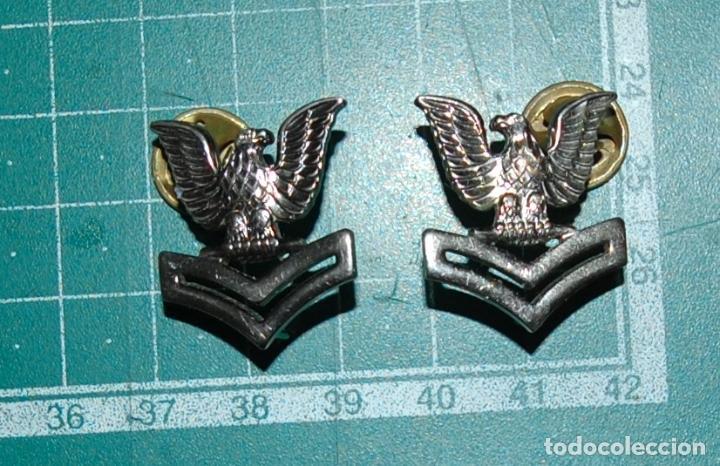 USN. US NAVY. INSIGNIAS DE CUELLO (Militar - Insignias Militares Extranjeras y Pins)