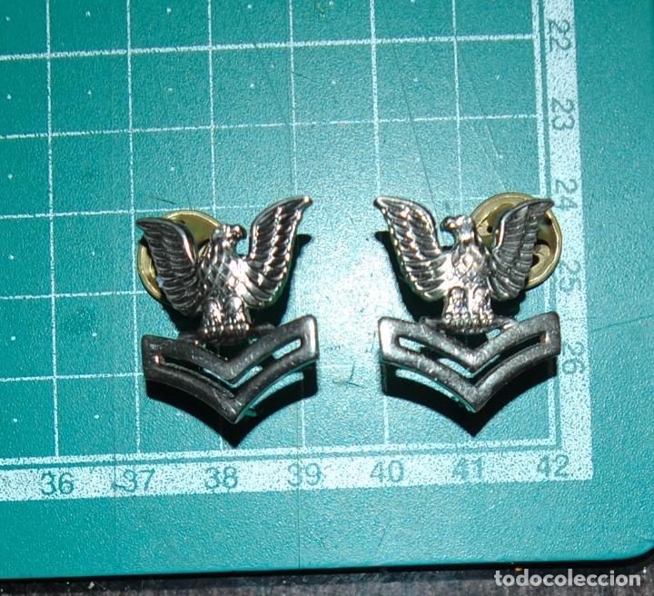Militaria: USN. US NAVY. INSIGNIAS DE CUELLO - Foto 2 - 147823614