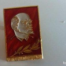 Militaria: INSIGNIA PIN LENIN URSS RUSA. ORIGINAL. Lote 147869310