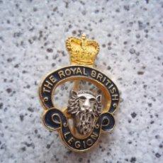 Militaria: PINS THE ROYAL BRITISH LEGION . Lote 147974922