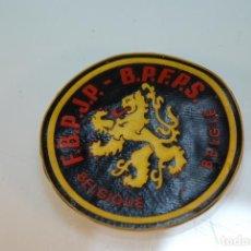 Militaria: MUY RARO PARCHE POSIBLEMENTE MILITAR BELGA - F.B.J.P - B.P.F.P.S. - BELGIE - BELGUIQUE - . Lote 148069778