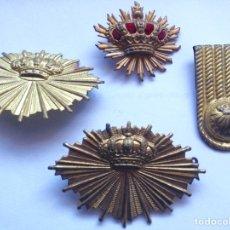 Militaria: LOTE INSIGNIAS CARABINEROS. ALFONSO XIII. Lote 148313328