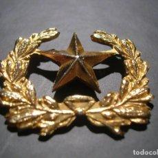 Militaria: DISTINTIVO DORADO DE ESTADO MAYOR. BELLO RELIEVE,. Lote 149889322