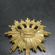 Militaria: INSIGNIA DE CARABINEROS ALFONSO XIII. Lote 150218025