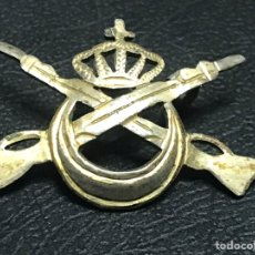Militaria: INSIGNIA DE ALFILER REGULARES ALFONSO XIII. Lote 150218730