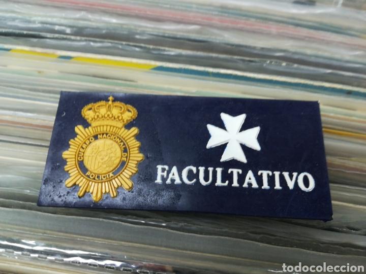 PLACA FACULTATIVO CUERPO NACIONAL DE POLICIA (Militar - Insignias Militares Españolas y Pins)