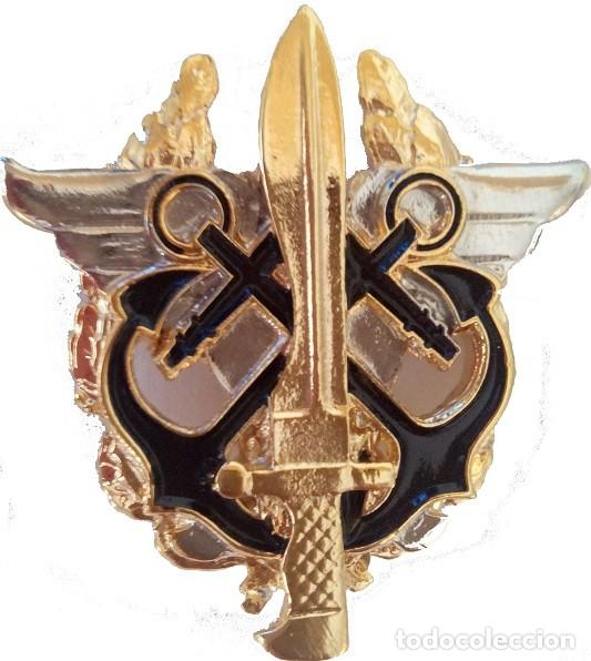 INSIGNIA EMBLEMA BOINA VERDE MCOE (Militar - Insignias Militares Españolas y Pins)