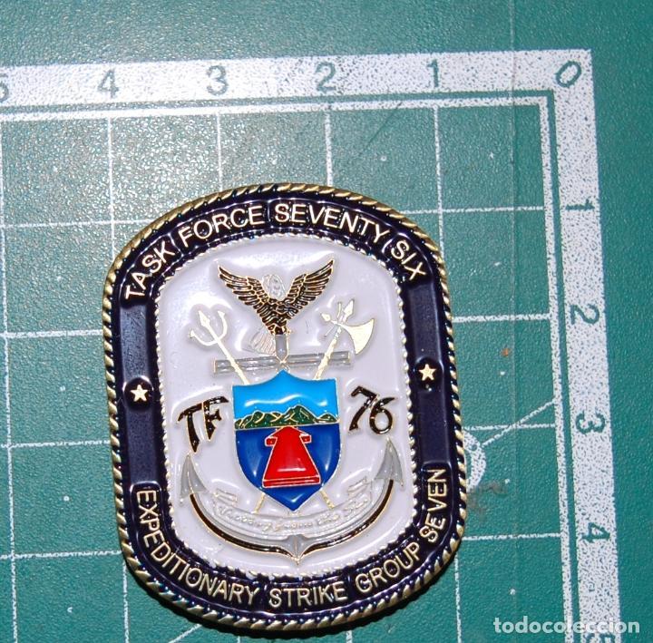 USN. US NAVY Y MARINES, ARMY Y USAF. CHALLENGE COIN. (Militar - Insignias Militares Internacionales y Pins)