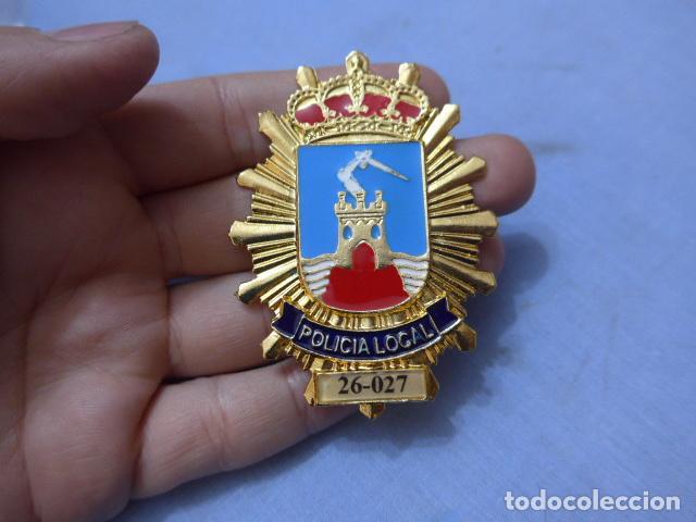 * PLACA DE POLICIA DE MAZARRON, MURCIA, ORIGINAL. ZX (Militar - Insignias Militares Españolas y Pins)