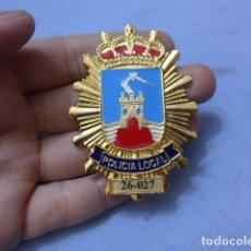 Militaria: * PLACA DE POLICIA DE MAZARRON, MURCIA, ORIGINAL. ZX. Lote 177575050