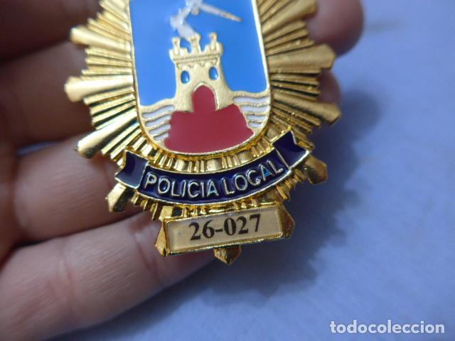 Militaria: * Placa de policia de mazarron, murcia, original. ZX - Foto 2 - 177575050