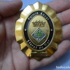 Militaria: * PLACA DE POLICIA DE LLORET DE MAR, VARIANTE, CATALUNYA, ORIGINAL. ZX. Lote 151397062