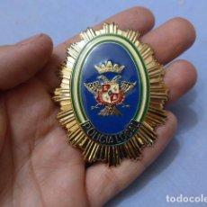 Militaria: * PLACA DE POLICIA DE ALHAURIN EL GRANDE, ANDALUCIA, ORIGINAL. ZX. Lote 151398550