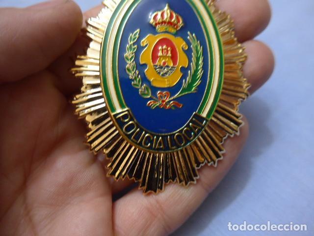 Militaria: * Placa de policia de algeciras, andalucia, original. ZX - Foto 2 - 151399314