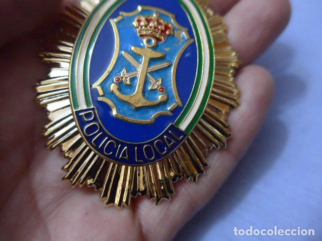 Militaria: * Placa de policia de nerja, andalucia, original. ZX - Foto 2 - 151400382