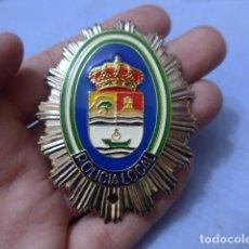 Militaria: * PLACA DE POLICIA DE RINCON DE LA VICTORIA, VERSION RAFAGA PLATEADA, ANDALUCIA, ORIGINAL. ZX. Lote 151400526