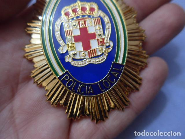 Militaria: * Placa de policia de almeria, andalucia, original. ZX - Foto 2 - 151400646