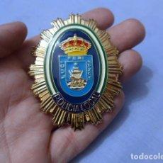 Militaria: * PLACA DE POLICIA DE SANLUCAR DE BARRAMEDA, ANDALUCIA, ORIGINAL. ZX. Lote 151400758