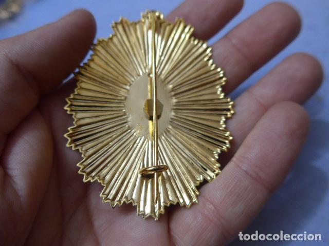 Militaria: * Placa de policia de rincon de la victoria, version rafaga dorada, andalucia, original. ZX - Foto 3 - 151401130