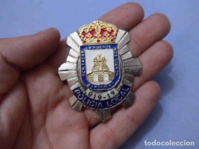 * PLACA DE POLICIA DE CIEZA, MURCIA, ORIGINAL. ZX (Militar - Insignias Militares Españolas y Pins)