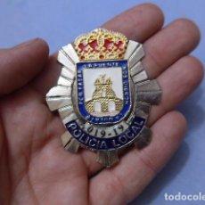 Militaria: * PLACA DE POLICIA DE CIEZA, MURCIA, ORIGINAL. ZX. Lote 151402542