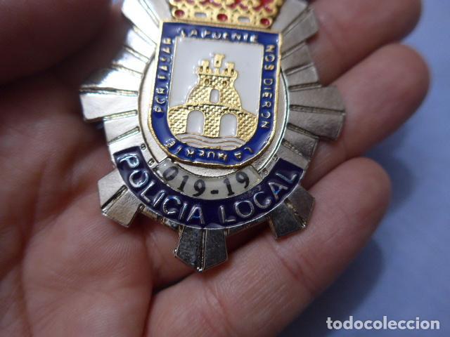 Militaria: * Placa de policia de cieza, murcia, original. ZX - Foto 2 - 151402542