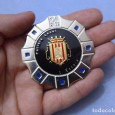 Militaria: * PLACA DE POLICIA DE L'ESCALA, VERSION DORADA, CATALUNYA, ORIGINAL. ESCALA. ZX. Lote 151402666
