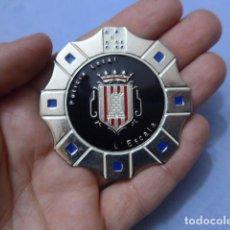 Militaria: * PLACA DE POLICIA DE L'ESCALA, VERSION PLATEADA, CATALUNYA, ORIGINAL. ESCALA. ZX. Lote 151402742