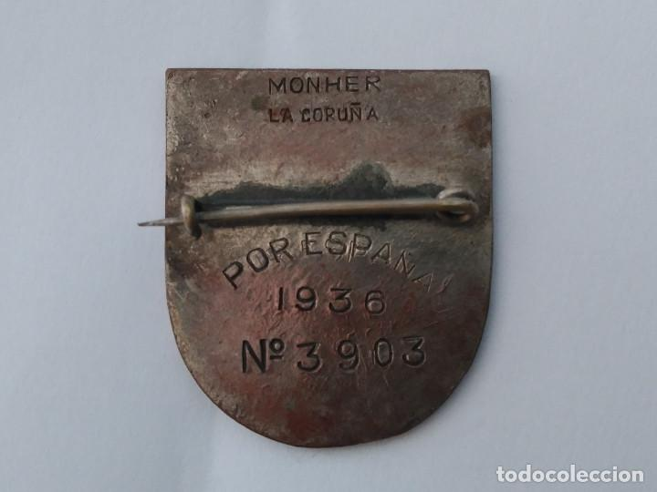 Militaria: INSIGNIA MUJERES AL SERVICIO DE ESPAÑA M S E - Foto 3 - 151504946