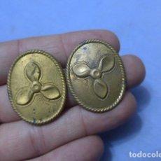 Militaria: * LOTE 2 ANTIGUA INSIGNIA DE MARINA, ORIGINALES. ZX. Lote 151836154